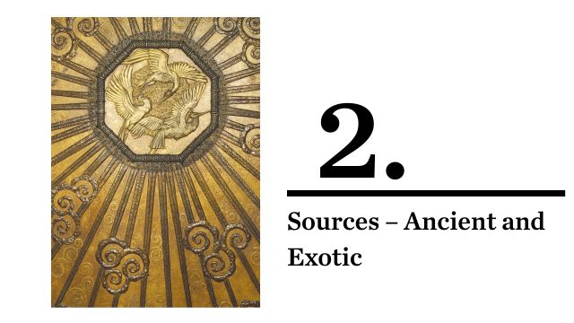 Art Deco sources - ancient & exotic