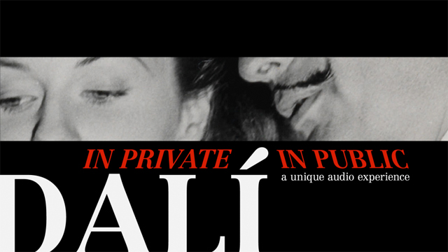 Dali: in private and in public