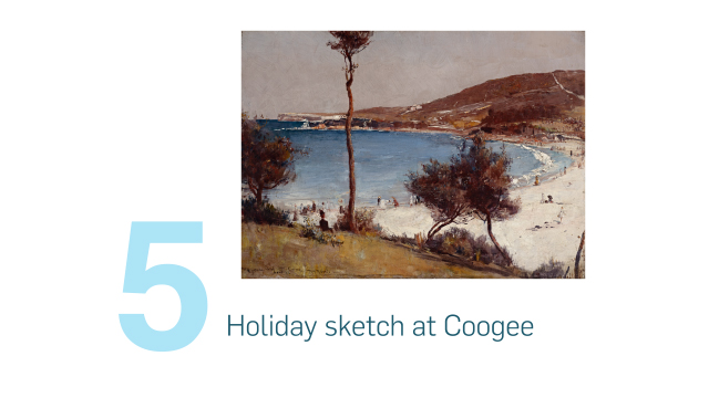Holiday sketch at Coogee