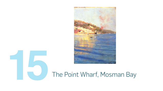 The Point Wharf, Mosman Bay