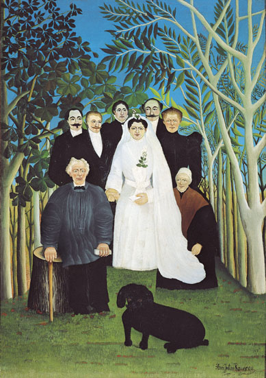 Henri Rousseau, called 'Le Douanier' The Wedding Party, c.1905 Oil on canvas 163.0 x 114.0cm Musée de l'Orangerie, Paris © Photo RMN - C. Jean