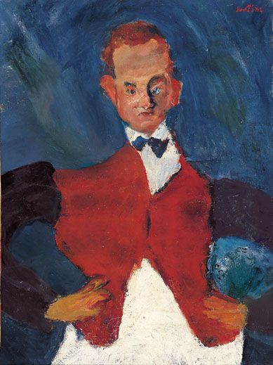 Chaim Soutine The Room Service Waiter