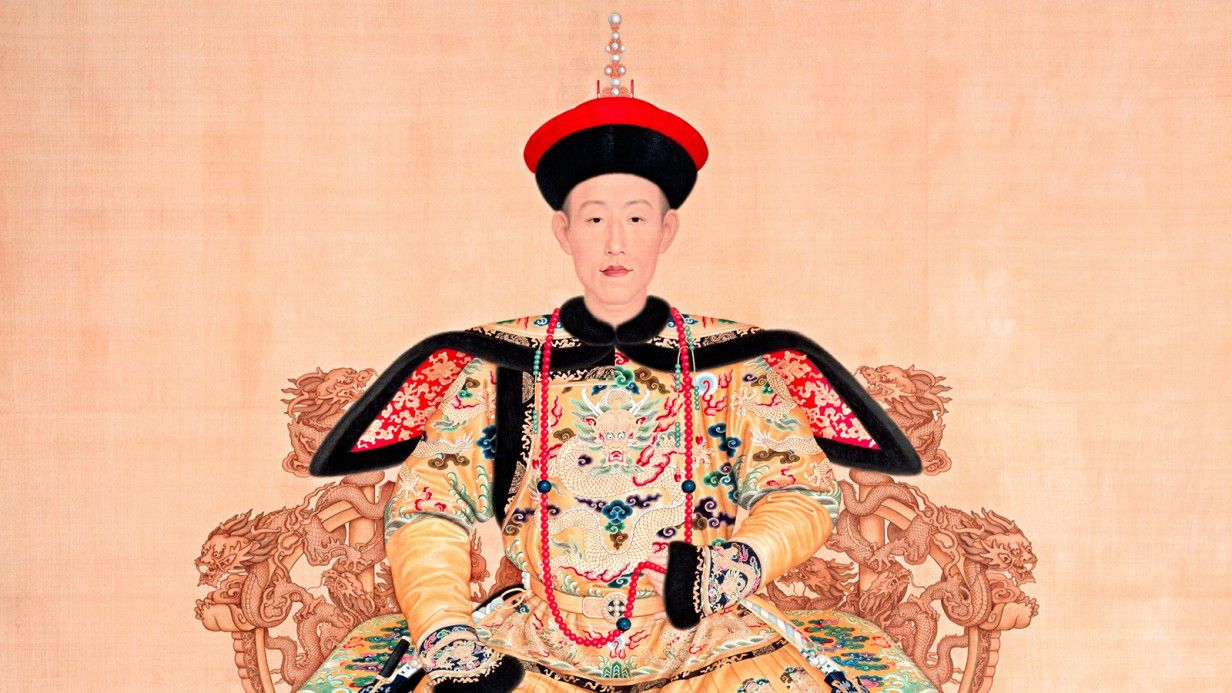 A Golden Age of China: Qianlong Emperor, 1736–1795