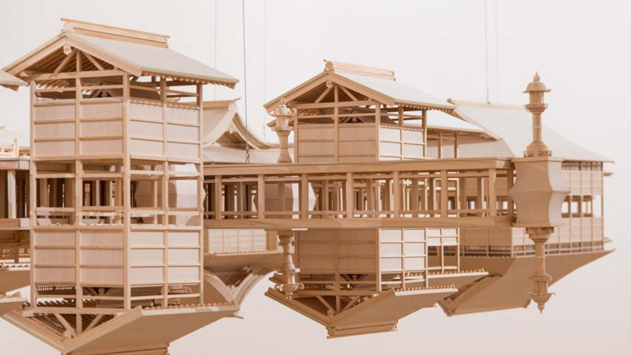 Takahiro Iwasaki: Itsukushima Reflection Model<br>From the NGV Collection