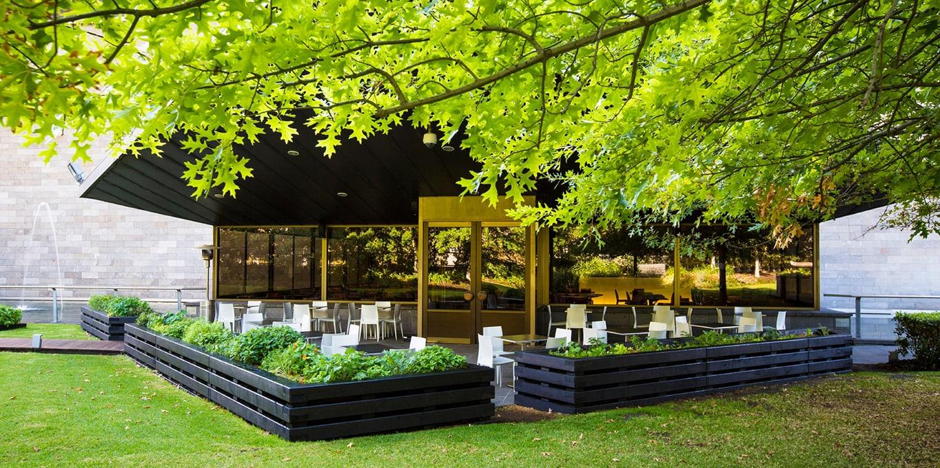 The Garden Restaurant Ngv