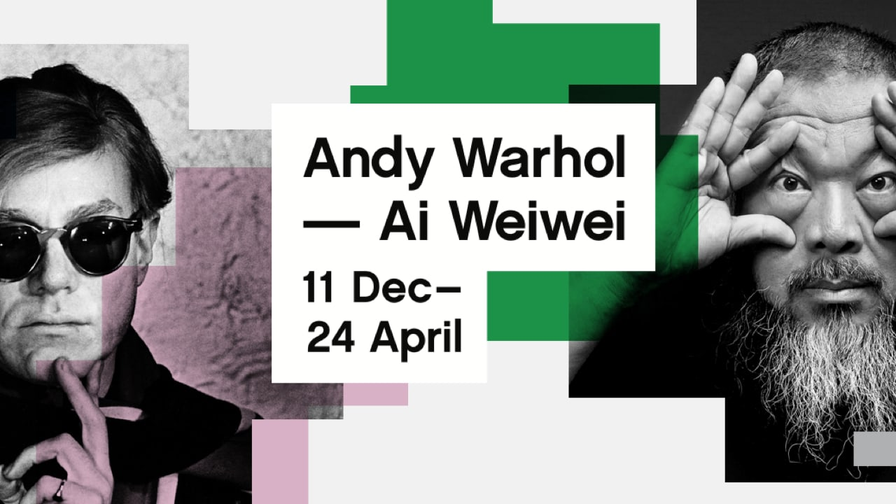 Andy Warhol | Ai Weiwei Exhibition Tickets