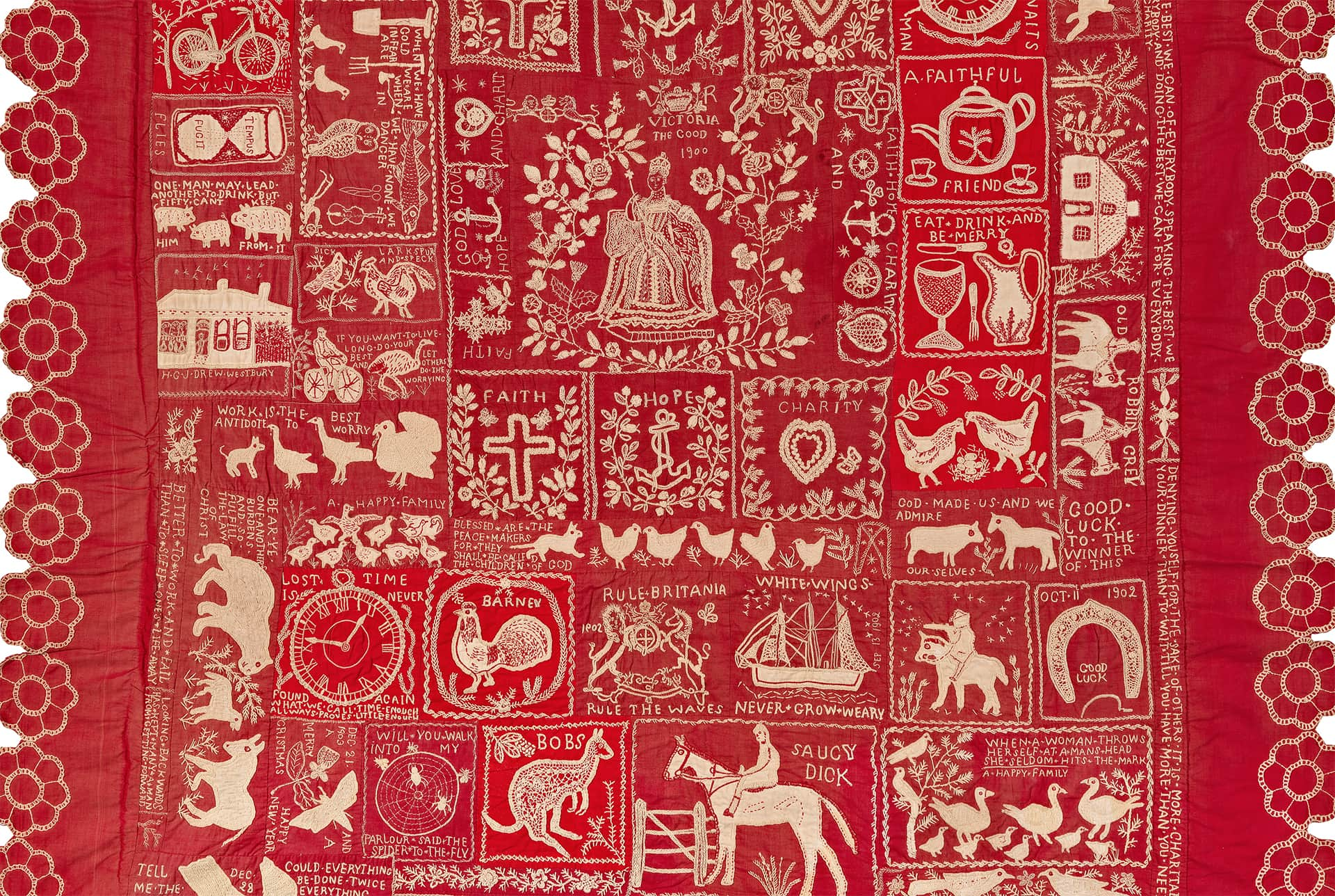 Making the Australian Quilt | NGV : australian quilts - Adamdwight.com