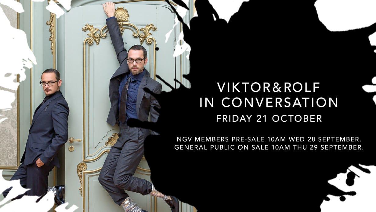 Viktor&Rolf: In Conversation