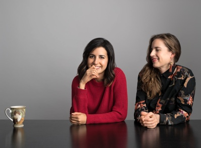 Amber Road designers Yasmine Ghoniem and Katy Svalbe