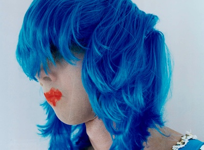 Polly BORLAND Untitled (Nick Cave in a blue wig) 2010 type C photograph 1815.0 x 1500.0 National Gallery of Victoria, Melbourne Purchased NGV Foundation, 2012 2012.333 © Polly Borland