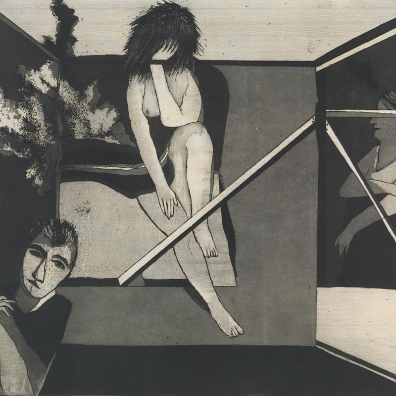 George BALDESSIN Bedfellows (detail) 1974  National Gallery of Victoria, Melbourne Gift of Ian and Sonya Rutherfurd, 2007 © The Estate of George Baldessin/Licensed by VISCOPY, Australia