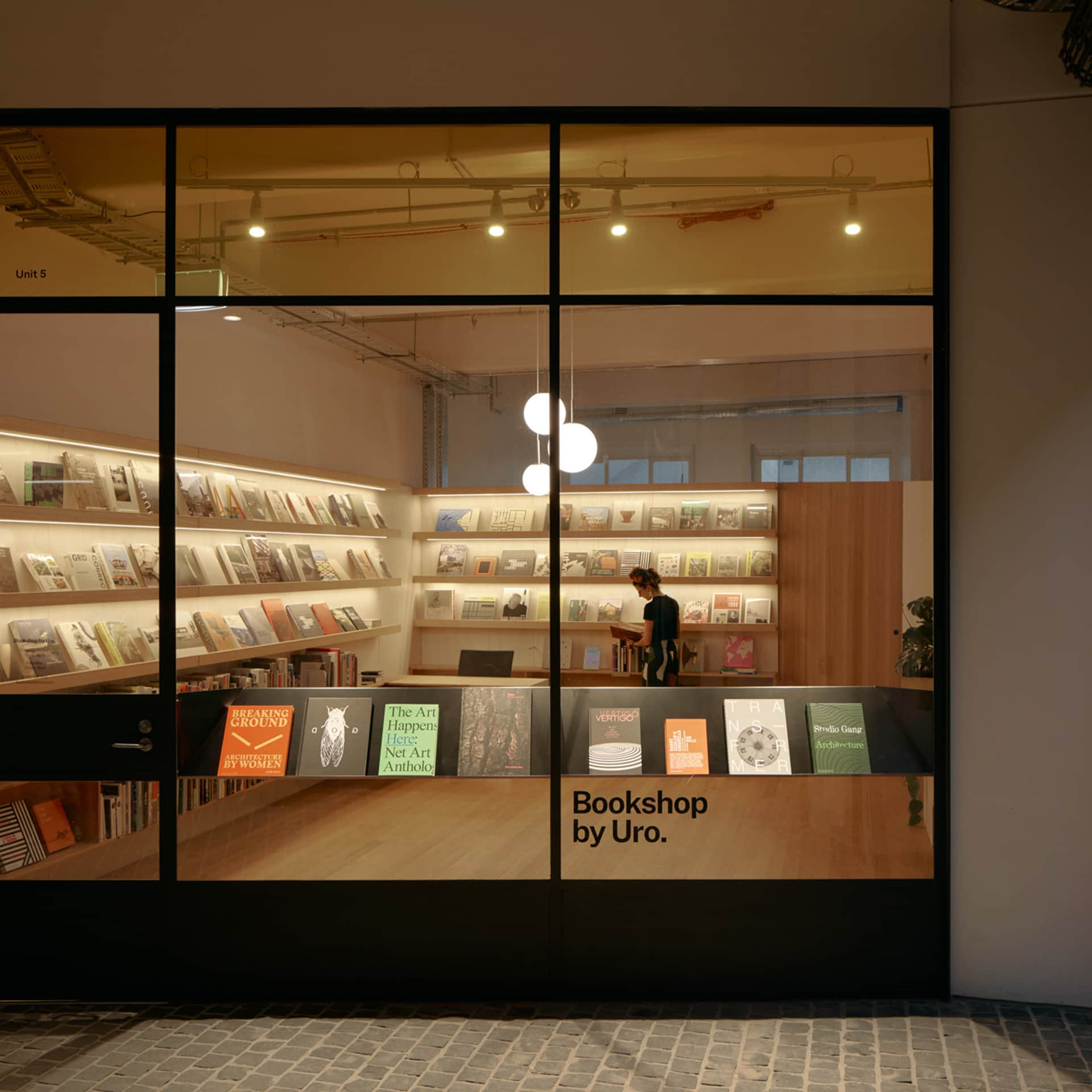 Bookshop by Uro. Photo: Tom Ross.