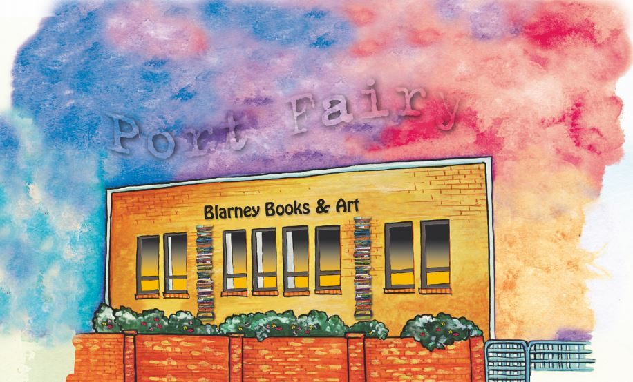 Blarney Books & Art, located in beautiful Port Fairy.