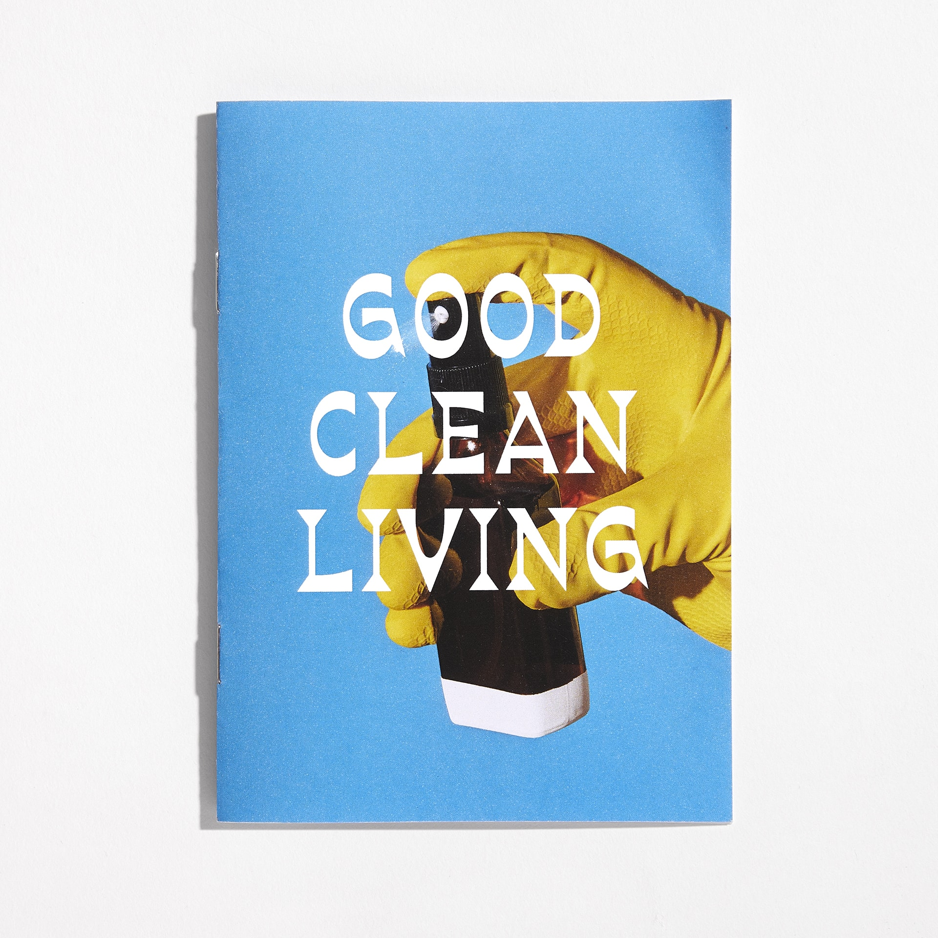 Good Clean Living - Mail order zine and hand sanitiser