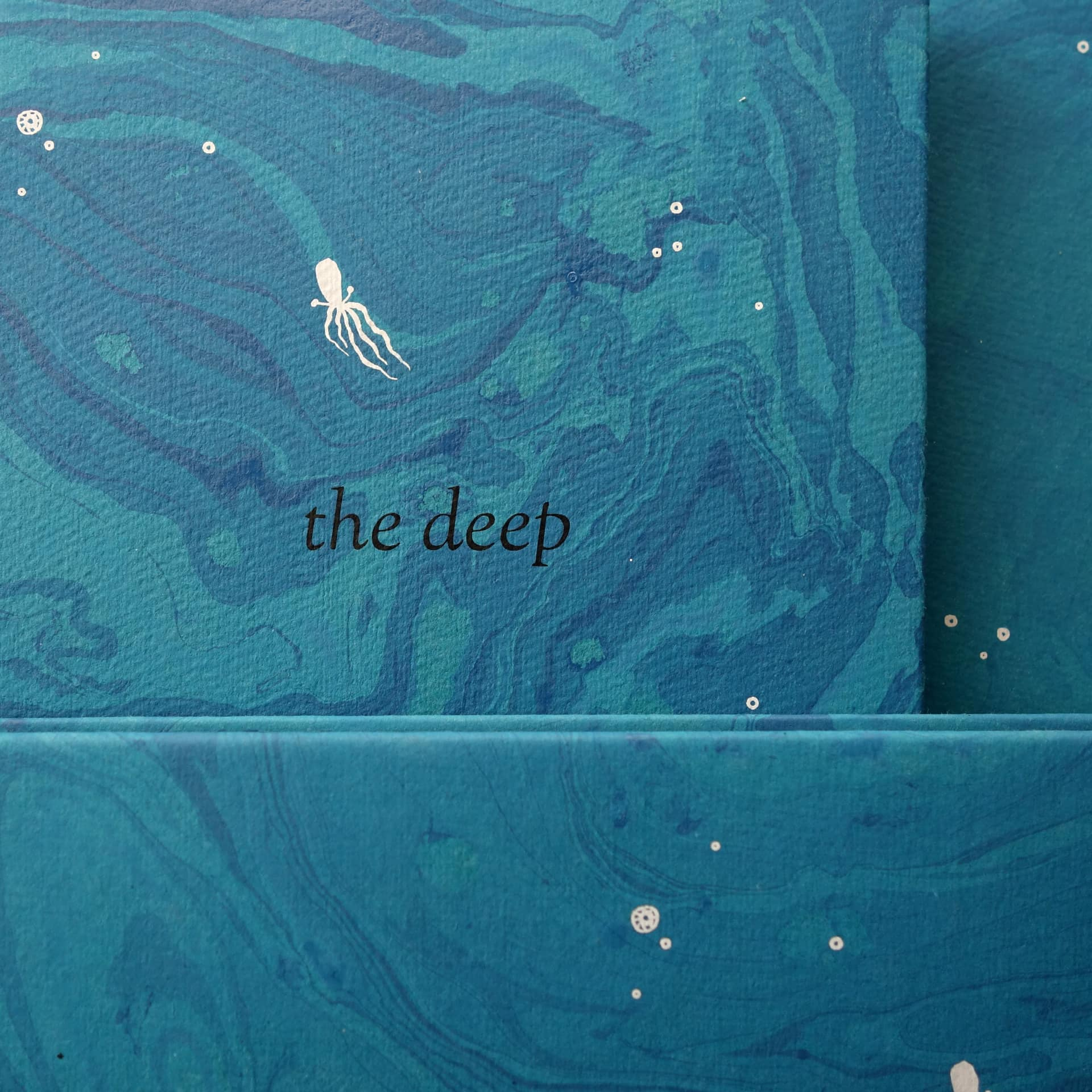Delve into The Deep. Our latest handmade offering.