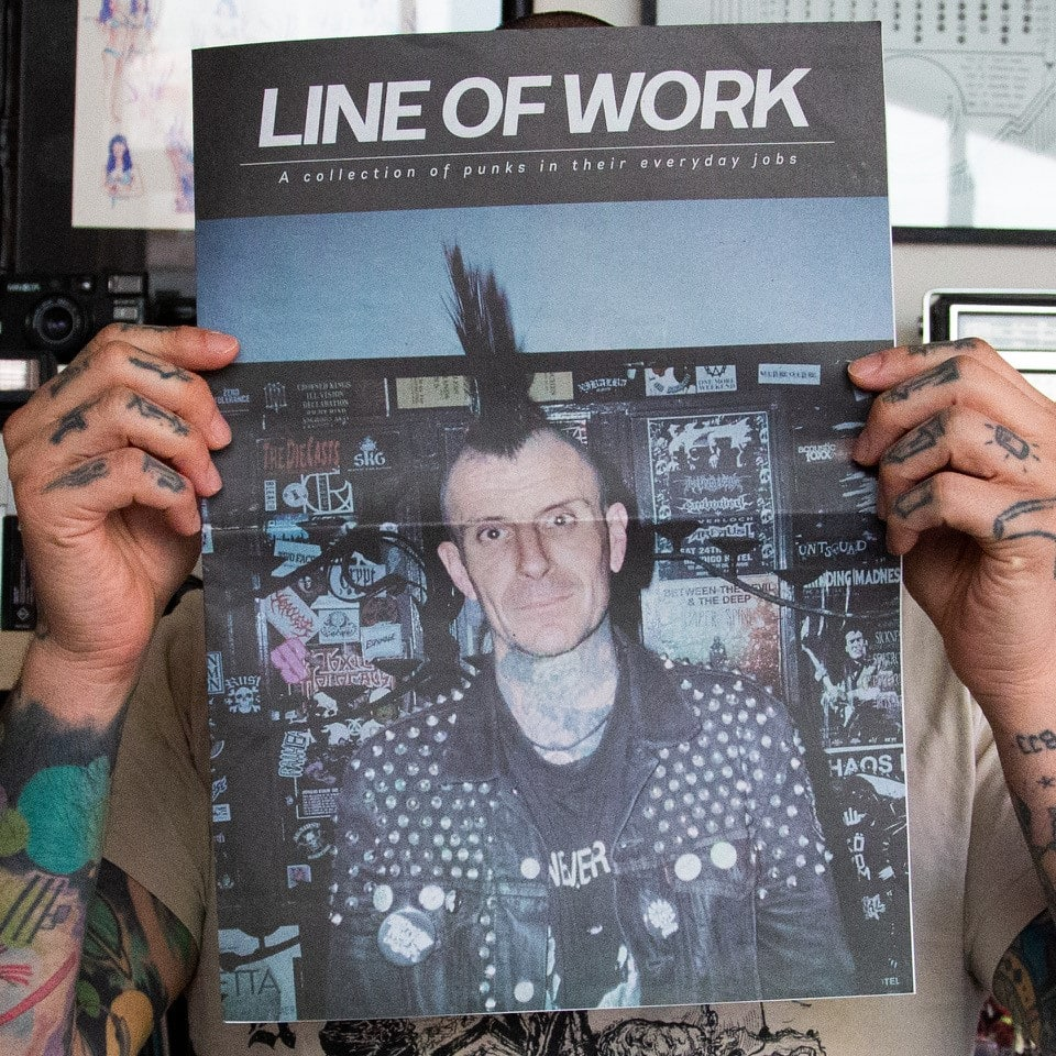 Line of Work, a collection of punks in their everyday jobs