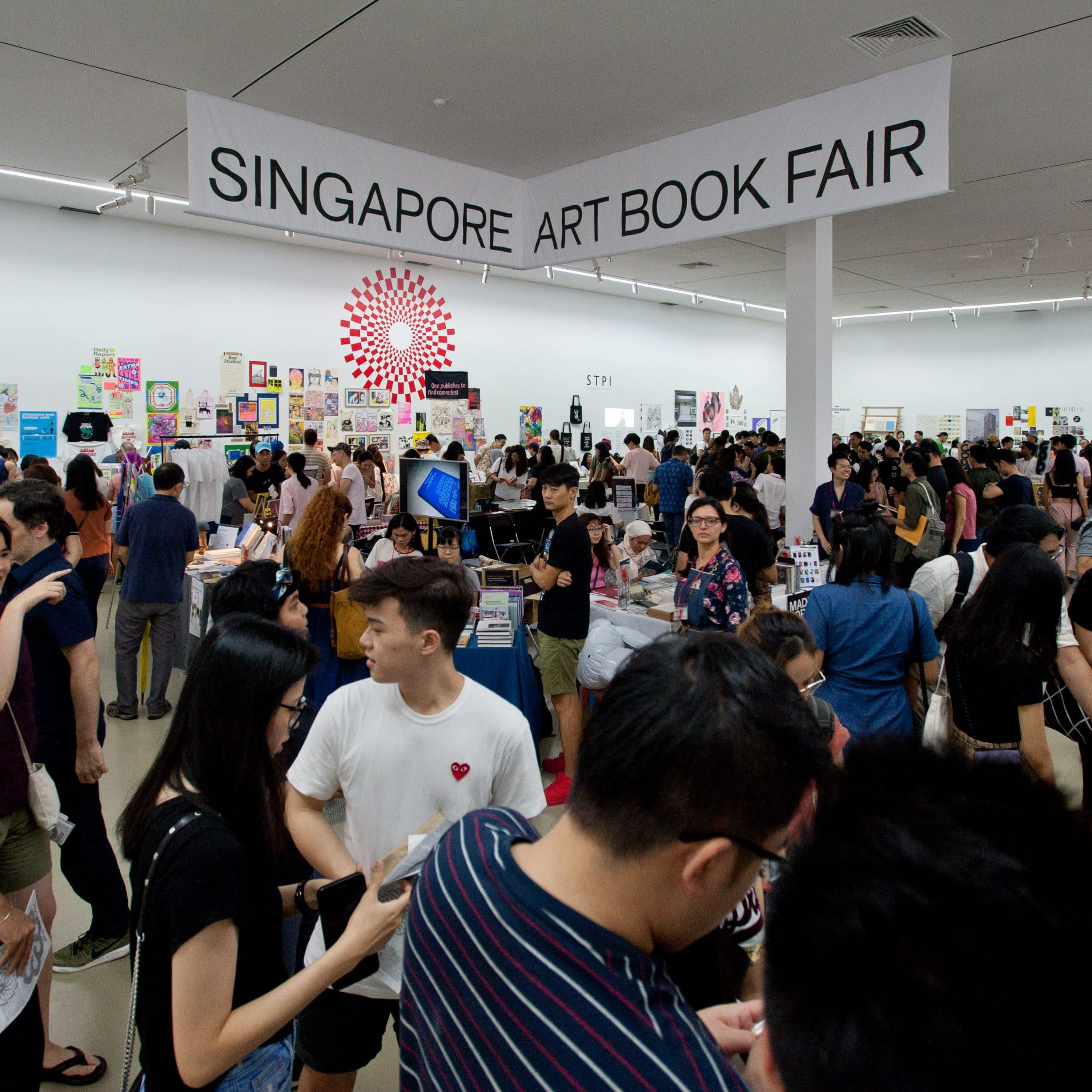 Singapore Art Book Fair 2019, IMAGE COURTESY OF Singapore Art Book Fair